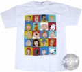 Family Guy Faces Grid T-Shirt