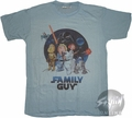 Family Guy Star Wars T-Shirt Photo Sheer