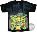 Teenage Mutant Ninja Turtles City T-Shirt