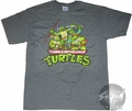 Teenage Mutant Ninja Turtles Group Name T-Shirt