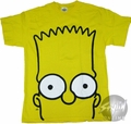 Simpsons Bart Head T-Shirt