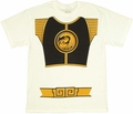 Power Rangers White T-Shirt