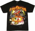 Power Rangers Group T Shirt