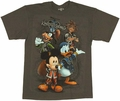 Kingdom Hearts Group T-Shirt
