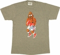 Punch Out Bald Bull T Shirt Sheer