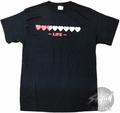 Zelda Eight Hearts T-Shirt
