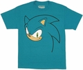 Sonic the Hedgehog Face T Shirt