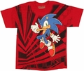 Sonic the Hedgehog Jump Youth T Shirt