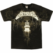 Metallica Ride Lightning T Shirt