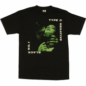 Type O Negative Black No 1 T Shirt