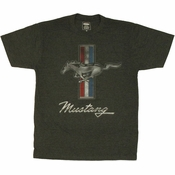 Ford Mustang Emblem T Shirt Sheer