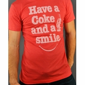 Coca-Cola Smile T Shirt Sheer