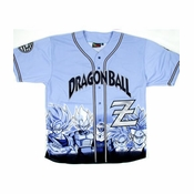 Dragon Ball Z Baseball Jersey