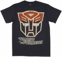 Transformers Autobot Logo Distressed T Shirt