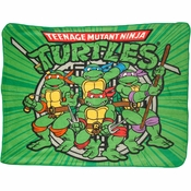 Ninja Turtles Group Blanket