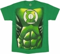Green Lantern Costume T Shirt