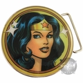 Wonder Woman Portrait Belt Buckle