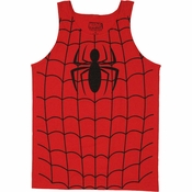 Spiderman Suit Tank Top