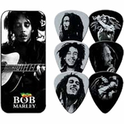 Bob Marley Portrait Guitar Pick Set