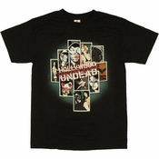 Hollywood Undead Comic T Shirt