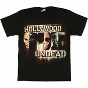 Hollywood Undead Panels T Shirt