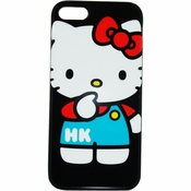 Hello Kitty Overalls iPhone 5 Phone Case