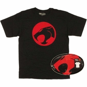 Thundercats Logo T Shirt in Tin