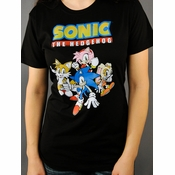 Sonic the Hedgehog Friends Baby Tee