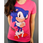 Sonic the Hedgehog Smirk Baby Tee