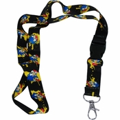 Sonic the Hedgehog Splats Lanyard