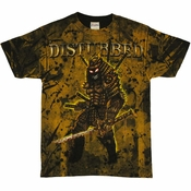 Disturbed Warrior T Shirt