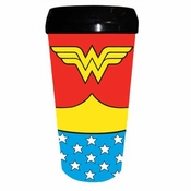 Wonder Woman Suit Travel Mug