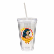 Wonder Woman Portrait Travel Cup