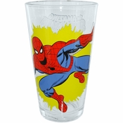 Spiderman Blast Pint Glass