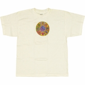 Grateful Dead Circle White Youth T-Shirt
