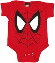 Spiderman Face Snap Suit