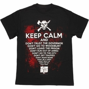 Walking Dead Keep Calm T Shirt