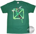 Green Lantern Flying X T-Shirt
