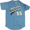 Eastbound and Down Mermen Baseball Jersey