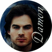 Vampire Diaries Damon Button