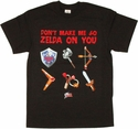 Zelda Dont Make 3D T-Shirt