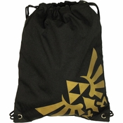 Zelda Crest Drawstring Backpack