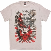 Avengers Team Rising T Shirt