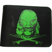 Creature from the Black Lagoon Head Wallet