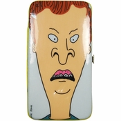Beavis and Butthead Heads Clutch Wallet