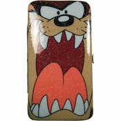 Looney Tunes Taz Face Clutch Wallet