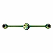 Incredible Hulk Industrial Barbell
