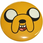 Adventure Time Jake Face Button