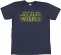 Star Wars Logo T Shirt Sheer