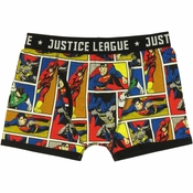 Justice League Comic Hero Boxer Briefs